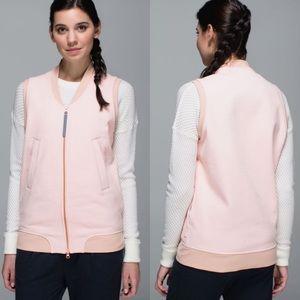 Lululemon   Parfait Pink Departure Vest